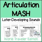 Articulation MASH: World Traveler Edition (Later-Developin