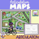 Distance Learning Articulation Maps-Sound loaded scenes, speech & lang. therapy