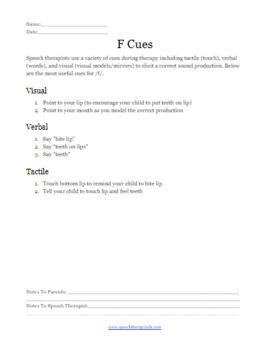 Articulation Materials & Guide