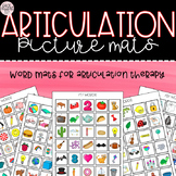 Articulation Mats for Speech Therapy!