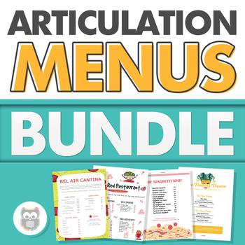 Articulation Menus Bundle