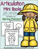 Articulation Mini Books - Spring Edition!