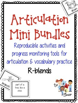 Articulation Mini Bundles: R-blends