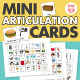 Mini Articulation Cards