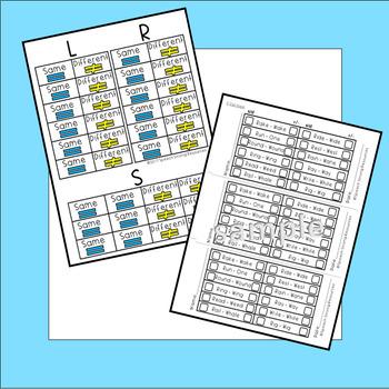 Articulation Mini-Centers: Minimal Pairs /R/, /S/, /L/