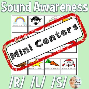Articulation Mini-Centers: /R/, /S/, /L/