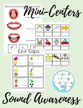 Sound Awareness with Phonemes /R/, /S/, /L/ in Speech Therapy