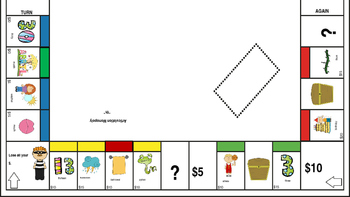 """Articulation Monopoly: """"TH"""" ; Speech Therapy """"TH"""""""