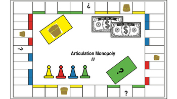 Articulation Monopoly: /l/ ; Speech Therapy /l/