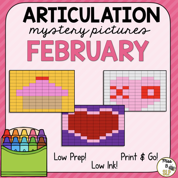 Articulation Mystery Pictures-February