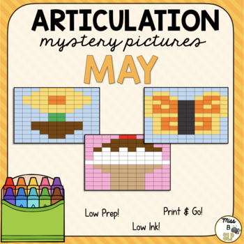 Articulation Mystery Pictures-May