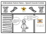 Articulation Nation News - Newspaper Stories Reading Tasks