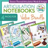 Articulation Notebooks - Seasonal Editions Bundle