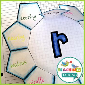 Articulation Notebooks Template /r/ Freebie