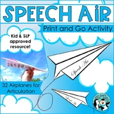Articulation Paper Airplanes