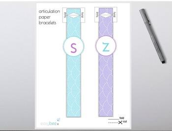 Articulation Paper Bracelets