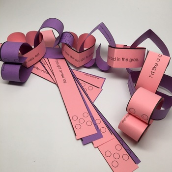 Articulation Craft: Paper Chains for Year Round Fun