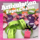 Articulation Craft: Paper Chains for Year Round Fun
