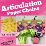 Paper Chain Articulation Craft
