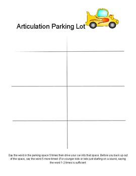 Articulation Parking Lot