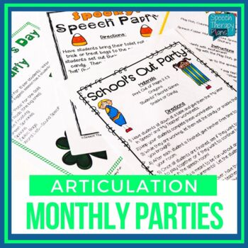 Articulation Party Ideas