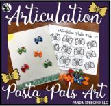 Articulation Pasta Pals: Bow-Tie Butterflies