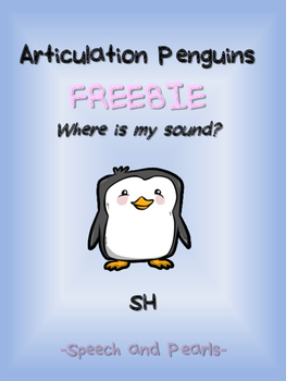"Articulation Penguins ""SH"" Freebie"