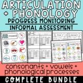 Articulation/Phonology Assessment + Progress Monitoring fo