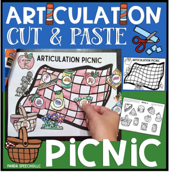 Articulation Picnic: A Speech Therapy Craft Activity