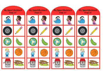 Articulation Picture Bookmarks