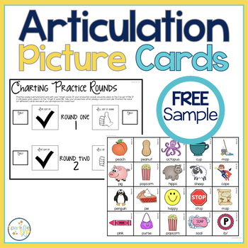Articulation Picture Cards FREE SAMPLE