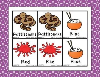Articulation Picture Cards - Set 2 (S, Z, R, L)