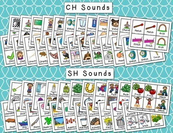 Articulation Picture Cards - Set 3 (SH, CH, TH)