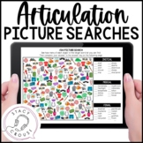 Articulation Picture Searches Print or No Print Teletherap