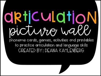 Articulation Picture Wall