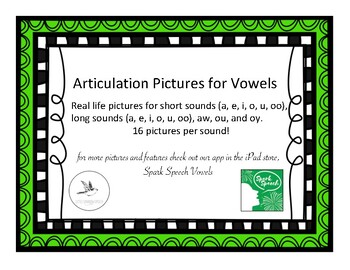 Vowel Pictures