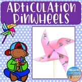 Articulation Pinwheels: A Spring Craftivity