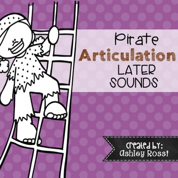 Articulation Pirate Themed for Speech Therapy