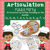 Articulation Pizza Party