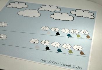 Articulation Placemat Singing Birds - /L/