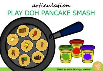 Articulation Play Doh Pancake Smash