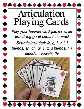 Articulation Playing Cards