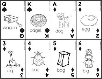 Articulation Playing Cards for G - Card Deck