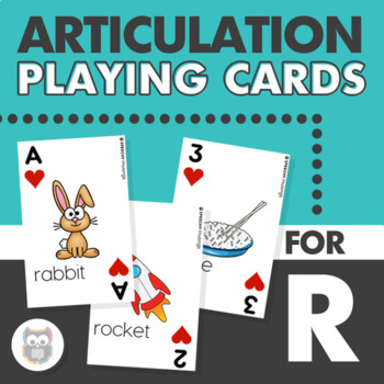 Articulation Playing Cards for R - Card Deck