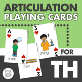 Articulation Playing Cards for TH - Card Deck