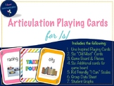 Articulation Playing Cards for /s/