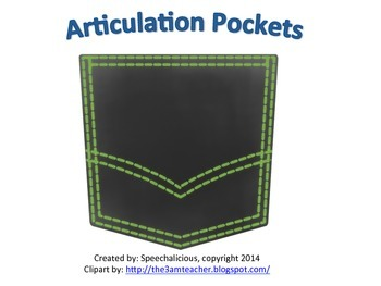 Articulation Pockets