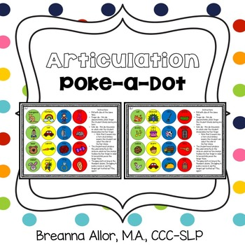 Articulation Poke-a-Dot