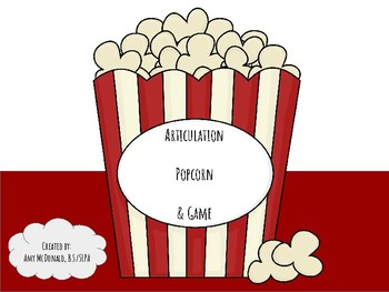 Articulation Popcorn and Game - Full Edition