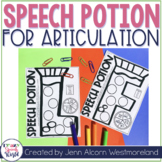 Articulation Potions for Speech and Language Therapy